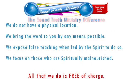 image of sound truth ministry difference