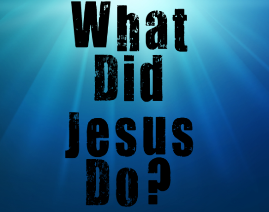 image of what did jesus do